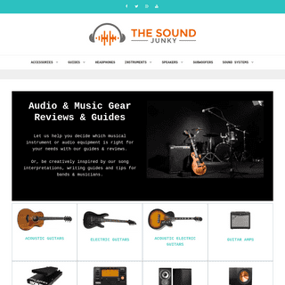 The Sound Junky - Audio & Music Gear Reviews & Guides