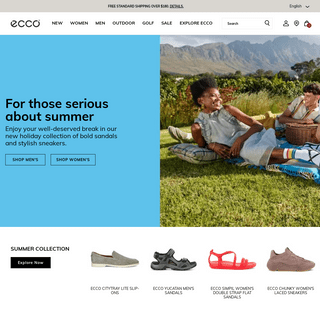 ECCO® Shoes, Boots, Sandals, Golf Shoes, Sneakers & Leather Bags.