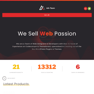 AA-Team – Specialized Developers with over 12 Years of Experience!