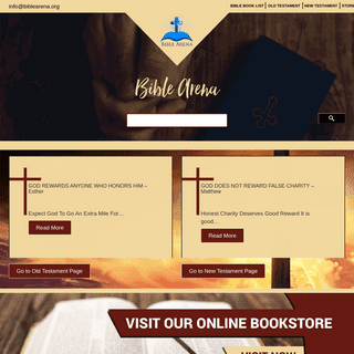 Bible Arena - Lessons & Prayers from Bible Old & New Testaments
