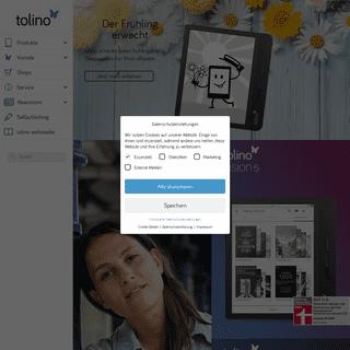tolino - Die eReading Marke der deutschen Buchhändler