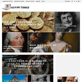 History Things - Historical Happenings