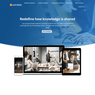 Lucidea - Redefine how Knowledge is Shared