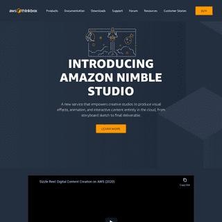 Home - AWS Thinkbox