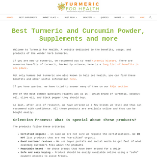 Where to Buy Good Turmeric - List of Trusted Brands