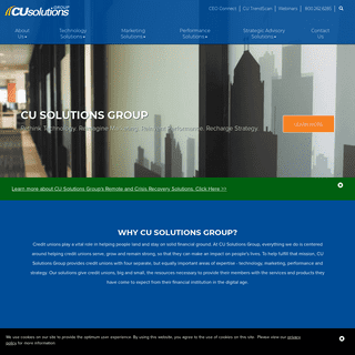 Home Page - CU Solutions Group