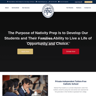 A complete backup of https://nativityprep.org