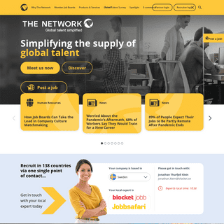 Home page - The Network