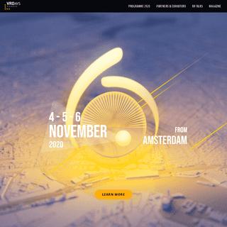 VRDays Europe - VRDays Europe 7 – Immersive Tech Week