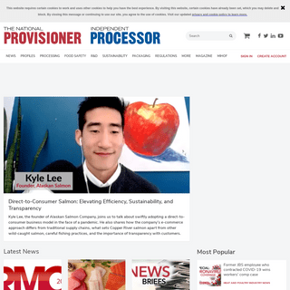 The National Provisioner - Meat & Poultry Processing News