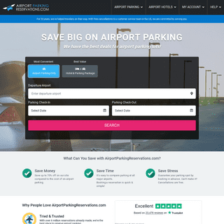 Airport Parking Reservations.com- Discount Airport Parking Reservations at airports nationwide