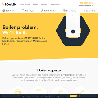 Best Boiler Repair & Installation Services London - Rowlen