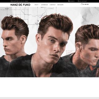 Hanz de Fuko - Mens Hair Products - Shop Online