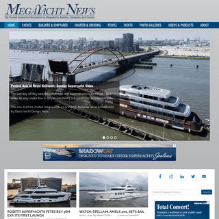 Megayacht News - the trusted source for megayacht and superyacht information