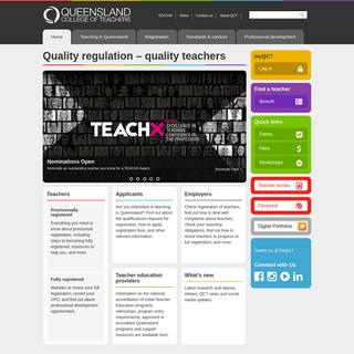 Queensland College of Teachers - Qld College of Teachers - QCT