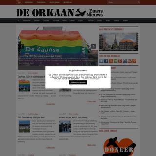 De Orkaan - Nieuws Cultuur Sport Wonen Bedrijven Zaanstad Oostzaan Wormerland