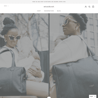 Storksak - The Baby Changing Bag & More - Official Online Store