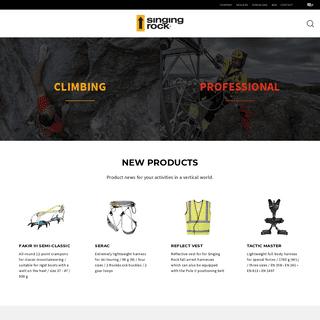 SingingRock.cz - News, Climbing
