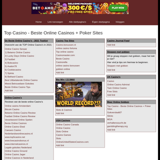 Top Casino - Beste Online Casinos + Poker Sites