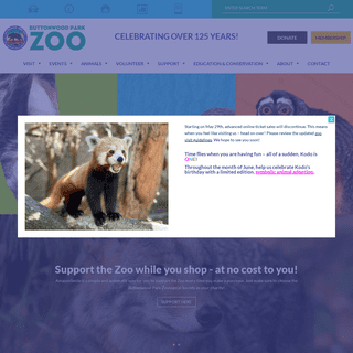 The Buttonwood Park Zoo - Named one of the finest small zoos in America!