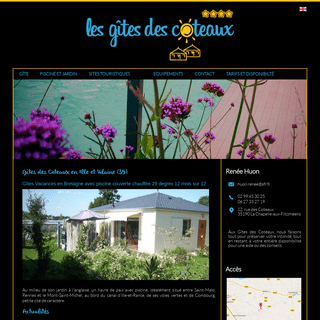 Gite des Coteaux - Gites Saint-Malo & Mont-Saint-Michel (35)