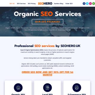 Organic SEO UK - SEO Services - Professional SEO 2021