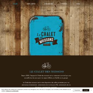 Restaurant - Le chalet des moissons - Occitanie