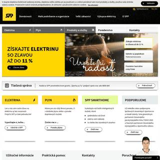 SPP - SPP - váš dodávateľ elektriny a zemného plynu