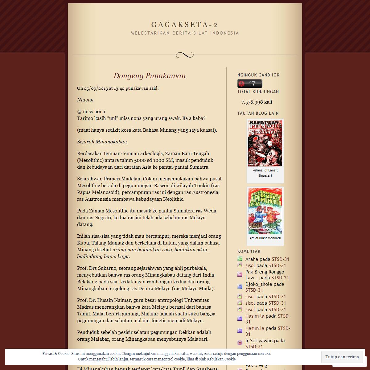 Dongeng Punakawan - Gagakseta-2 - Laman 28