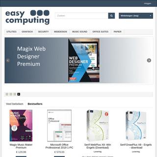 Easycomputing software licenties ebooks - EasyComputing