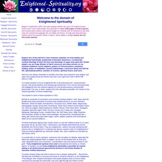 Enlightened Spirituality, Welcome to Spiritual Awakening