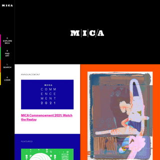 A complete backup of https://mica.edu