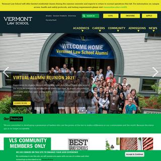 Vermont Law School - Vermont Law School