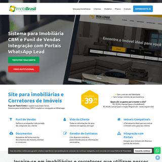 IMOBIBRASIL - Site para Imobiliárias por R$ 39,99