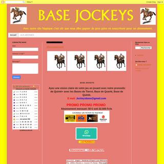 BASE JOCKEYS