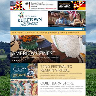 Kutztown Folk Festival - Folklife Festival - Kutztown, PA