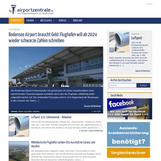 Das Flughafenmagazin für Deutschland - airportzentrale.de