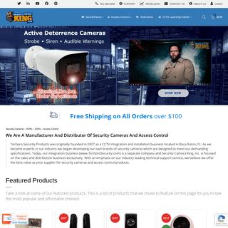 Security Cameras - IP Cameras - CCTV Video Surveillance Systems