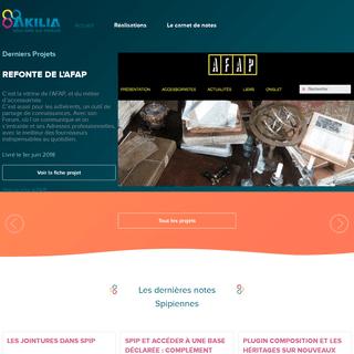Akilia - Développeur SPIP Toulouse, Occitanie