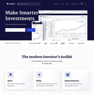 wallmine – Finance & Investing- Stocks, Crypto, Forex, ETFs
