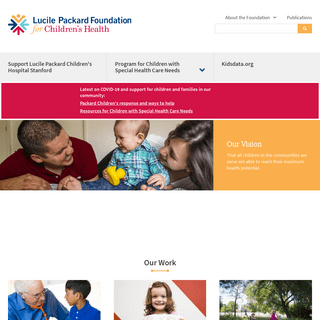 Home - Lucile Packard Foundation for Children`s Health