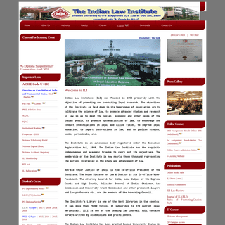 Welcome to Indian Law Institute