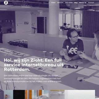 Full service internetbureau Rotterdam - Zicht online