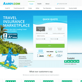 Travel Insurance Marketplace- Quotes, Plans, Reviews