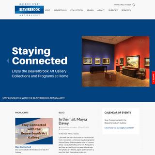 Welcome - Beaverbrook Art Gallery