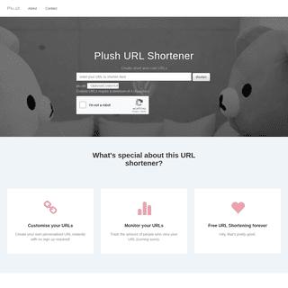 Plush - URL Shortener