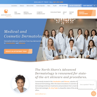 Chicagoland Medical and Cosmetic Dermatologist - Advanced Dermatology