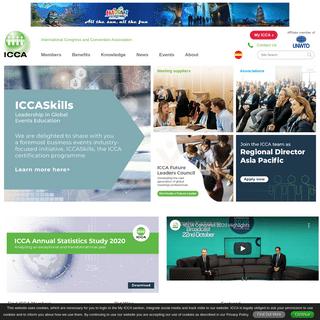 ICCA - International Congress and Convention Association - Home
