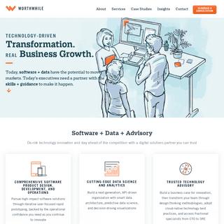Worthwhile - Custom Software Development Company - Data Analytics - Greenville, SC