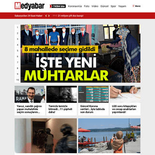 Medyabar - Sakarya`dan 24 Saat Haber